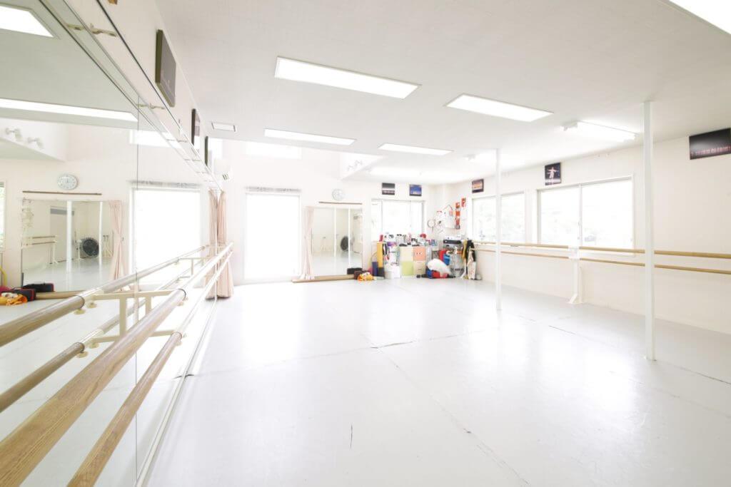 ひろせバレエのスタジオ